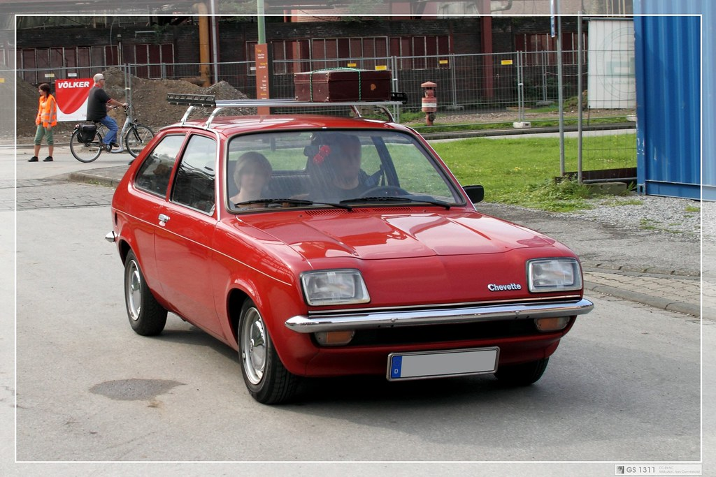 1975 1962 Opel Chevette 01 The Chevette Was A