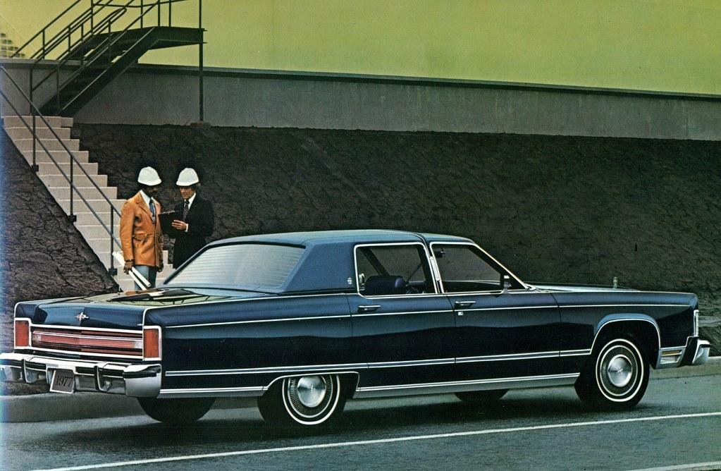 1977 Lincoln Continental Sedan Coconv Flickr