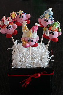Kirby Cake Pops | by Sweet Lauren Cakes