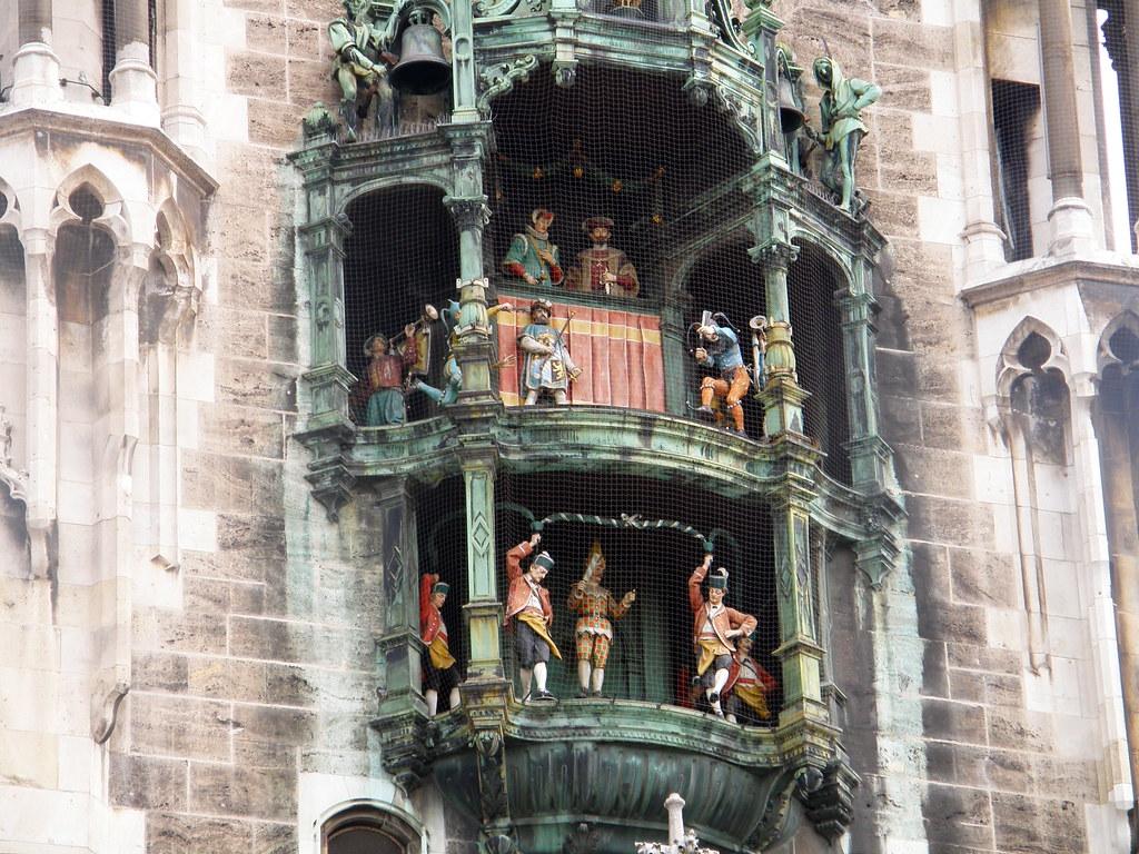 Glockenspiel rathaus
