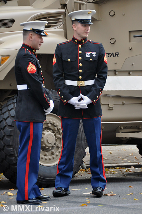 007 Veterans Day Parade - US Marine Corps | Two of the ...