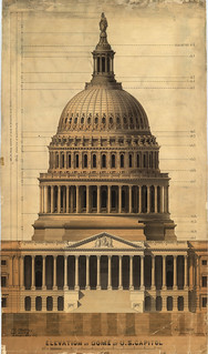 Elevation of the Dome of the U.S. Capitol | by USCapitol