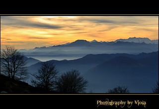 ☼ Sunset on the Alps ☼ | by Simply Viola ( Busy +off-on )
