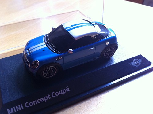 Mini Coupe Concept model | by Eelke Blok