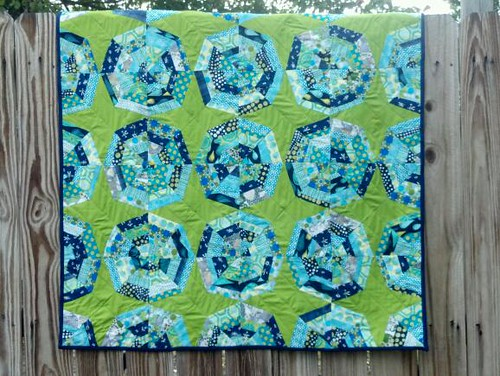 Spiderweb baby quilt | by Safiya Alyse