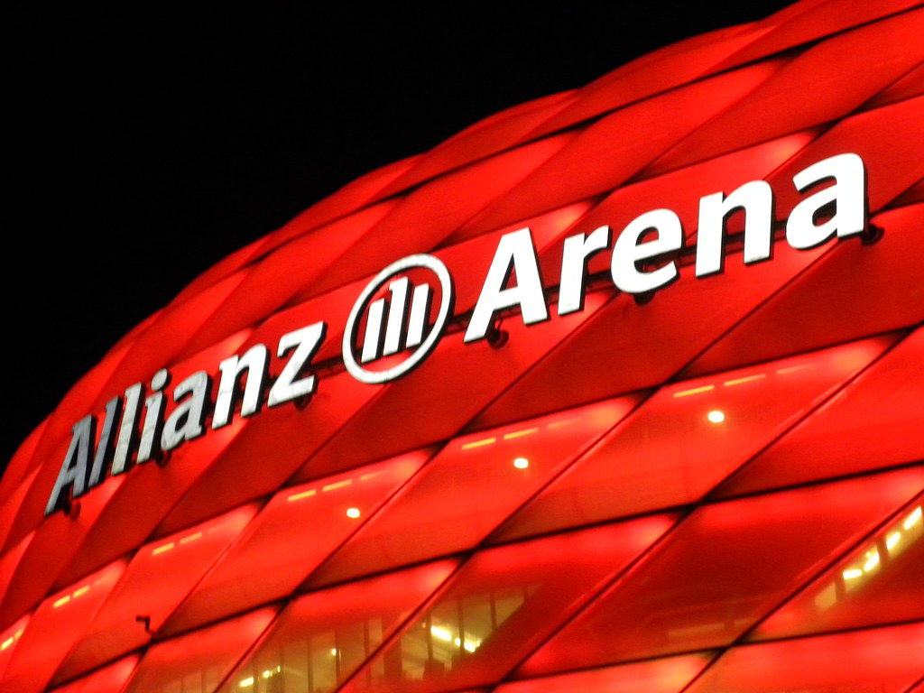 Allianz Arena The Legal Capacty Of The Stadium Is 69 901