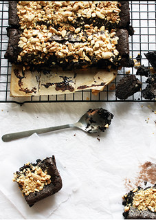 Dark Chocolate Fudge Brownies | by Carrol Luna