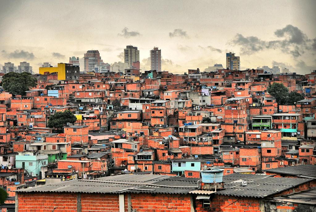 Favela Paraisopolis Overview 4 Sao Paulo Oct 2011