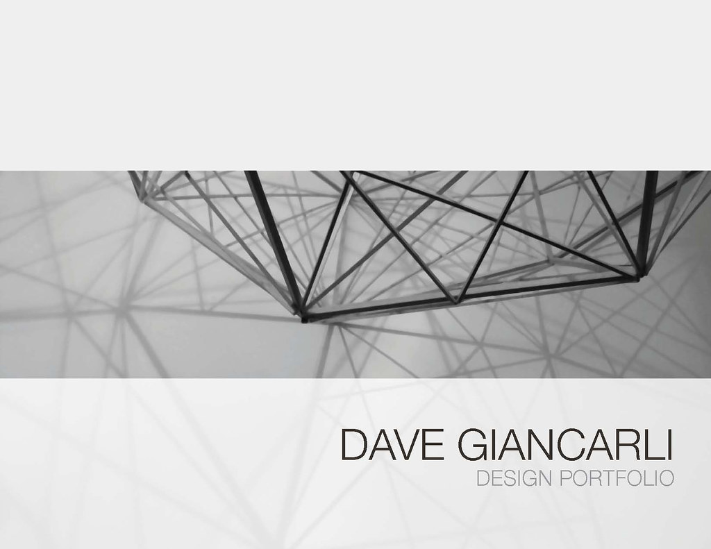 design portfolio cover idea dave giancarli flickr