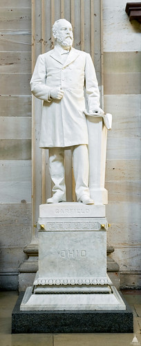 James A. Garfield Statue | by USCapitol
