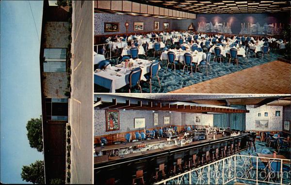 The living room restaurant warren ohio postcard image for The family room steakhouse