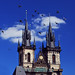 The Two Spires Of The Church Of Our Lady Before Tyn