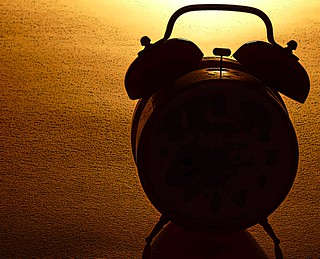 Silhouette of an Alarm Clock | by zeevveez