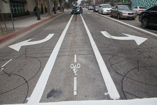 New Bike Facilities 2nd Street | by Gary Rides Bikes
