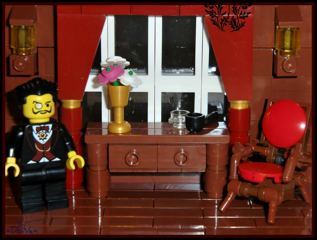 Lego Classic Interior Set  Have A Seat Sir Set Numbe Flickr - Lego house interior