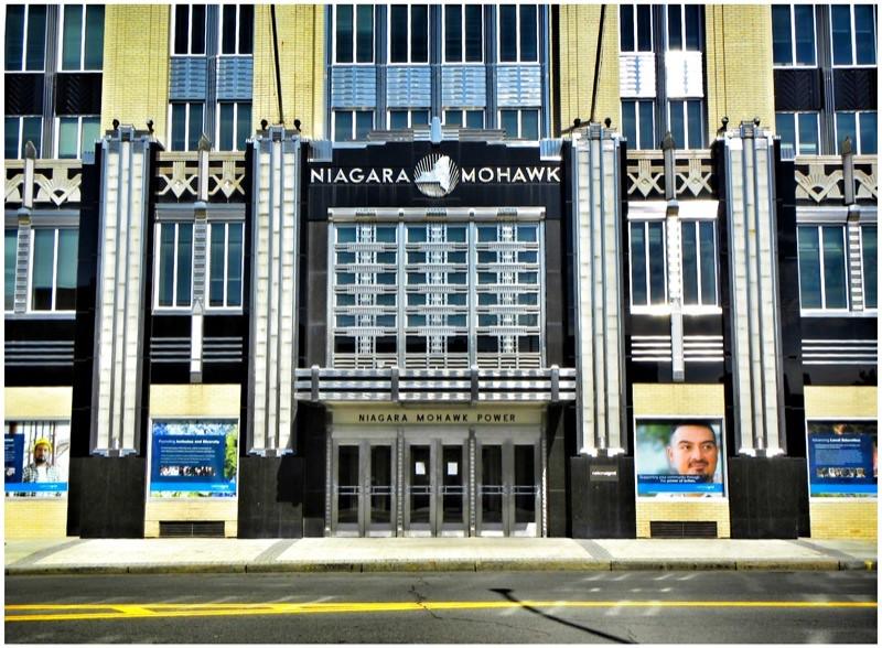 Niagara Mohawk Building Syracuse Ny Art Deco Facade