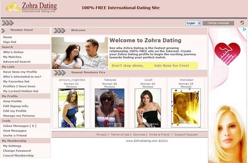 Zohra dating sites