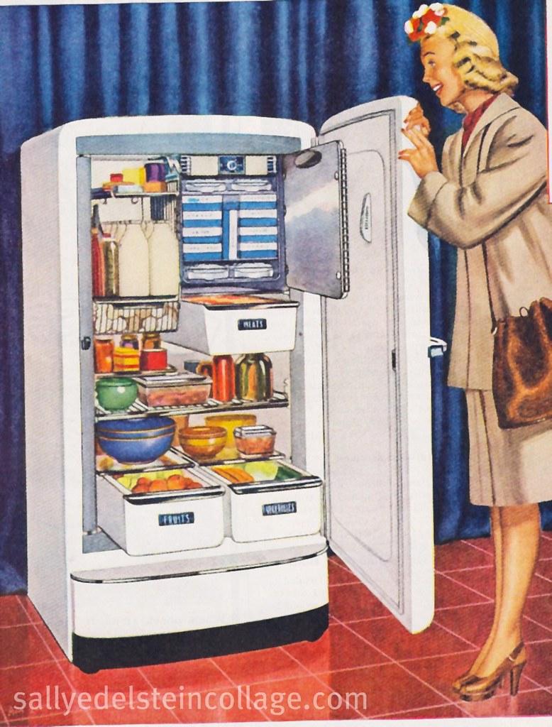Refrigerator Ad G E 1947