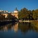 Jardines del Parterre y la Isla y el Palacio Real