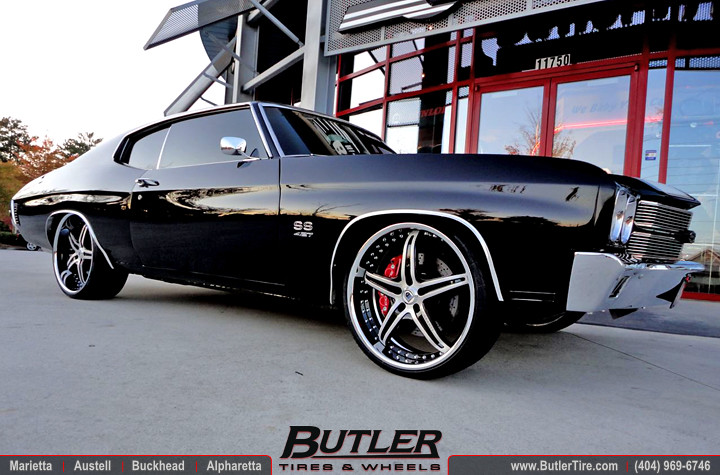 1970 Chevy Chevelle Ss With 22in Asanti Af144 Wheels Flickr