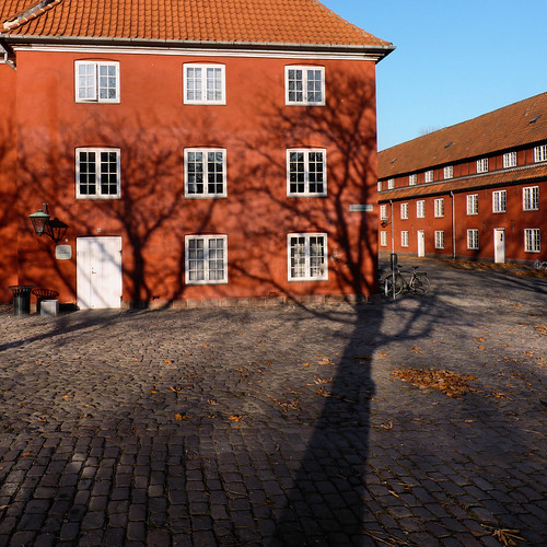 The shadow of victory at the Kastellet the Citadel | by B℮n