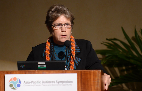Suzanne Case, Nature Conservancy | by University of Hawai'i News