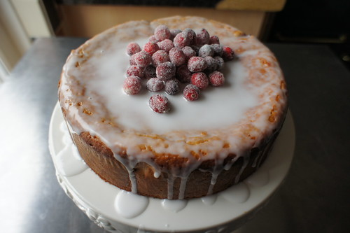 Healthy cranberry cake | by ag_nela