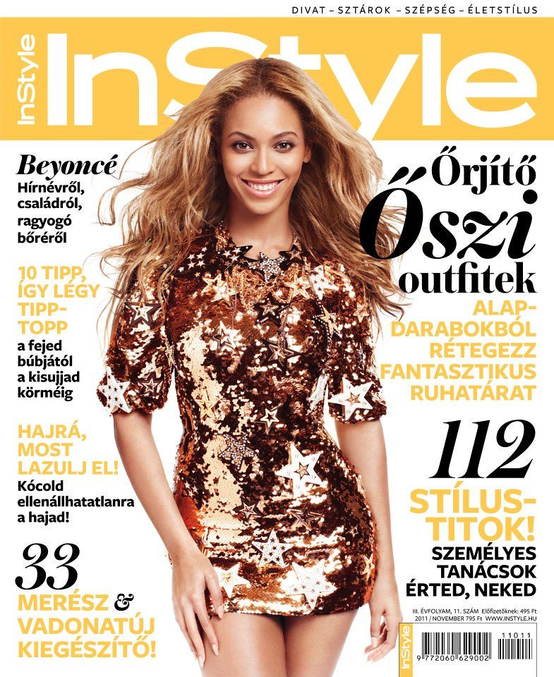 november s instyle magazine covers from all over the world flickr. Black Bedroom Furniture Sets. Home Design Ideas
