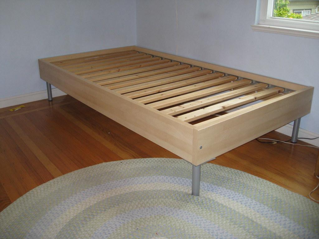 Amazoncom IKEA Twin Size Loft bed frame silver color