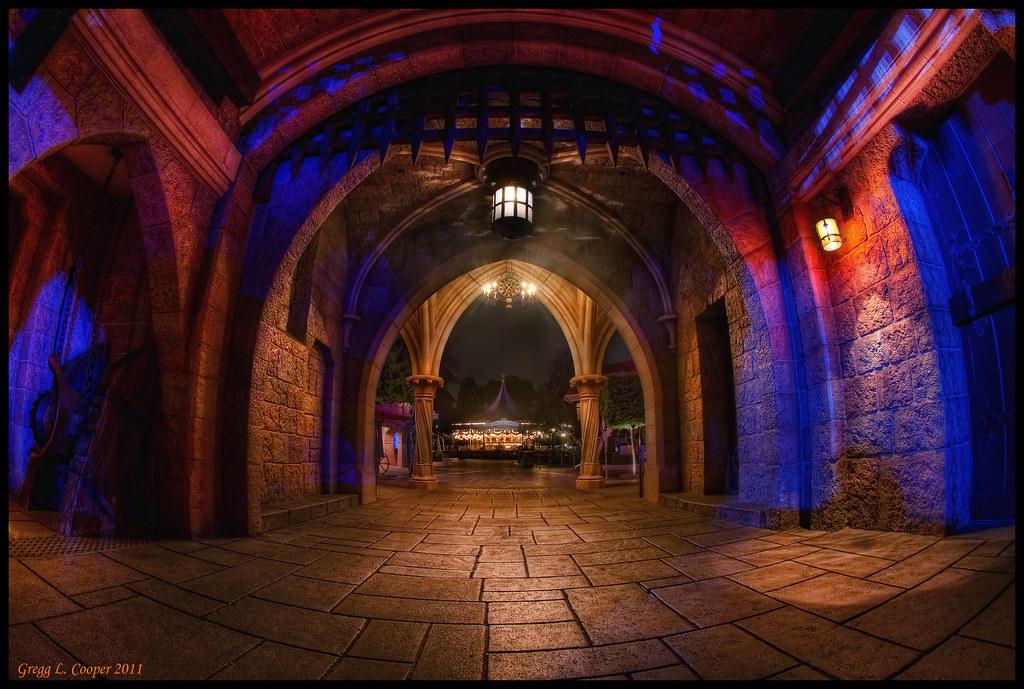 Arches Of Fantasy Sleeping Beauty Castle Disneyland
