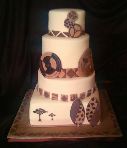 african themed wedding cake images africa wedding cake this was a true colabaration with 10603