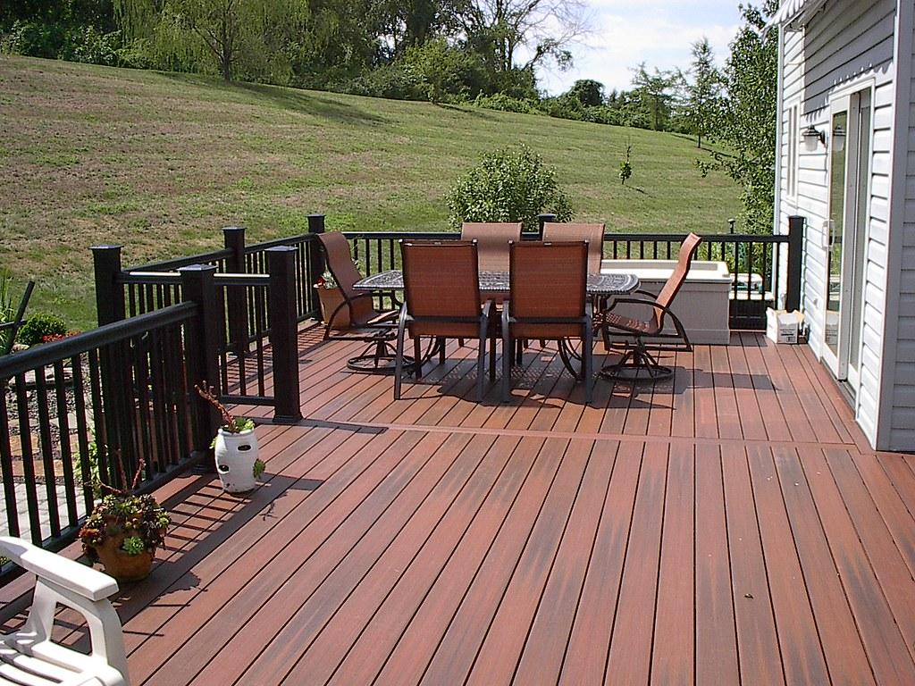 Fiberon horizon rosewood decking cedarbrook outdoor for Fiberon horizon ipe decking