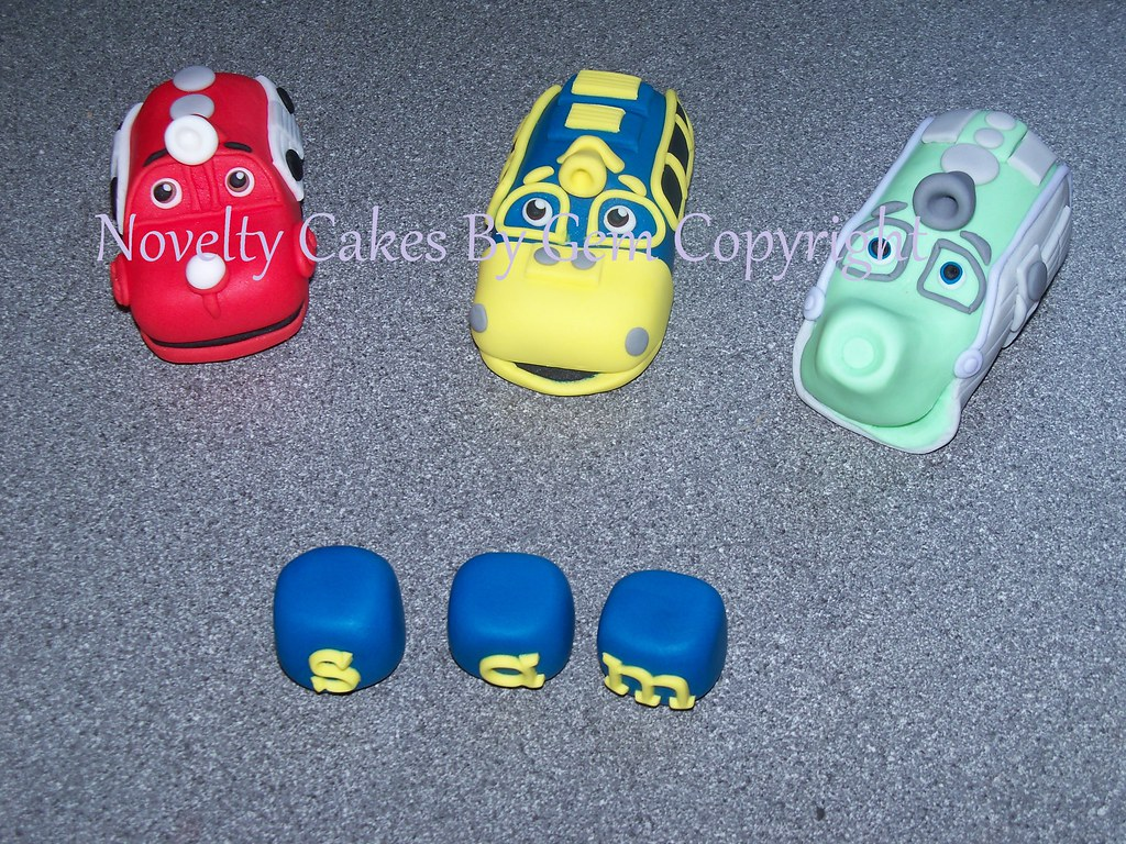 Chuggington trains wilson brewster koko edible cake topper Flickr