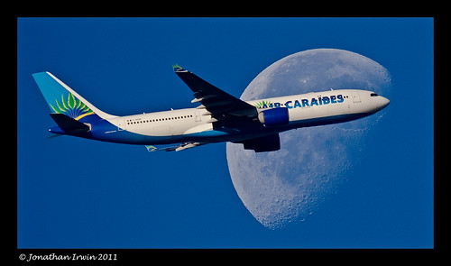 FOFDF Airbus A330-200 Moon Best Viewed By Pressing L | by Jonathan Irwin Photography