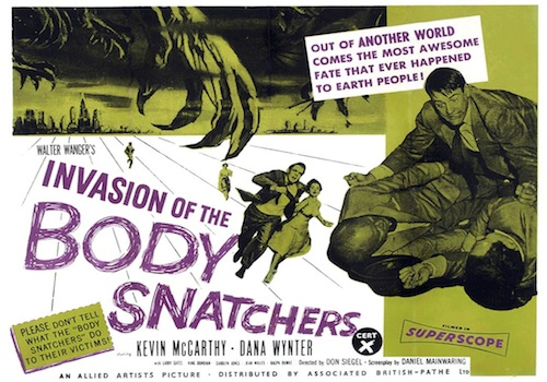 "10.26.11 - ""Invasion of the Body Snatchers"" 