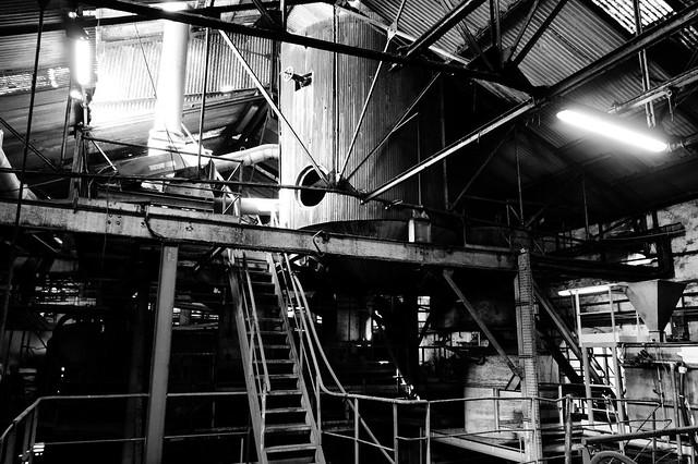 Int rieur de l 39 ancienne usine visite de l 39 usine du gol for Interieur usine