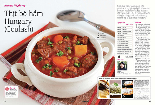 Goulash on Family Kitchen Magazine | by Savoury Days