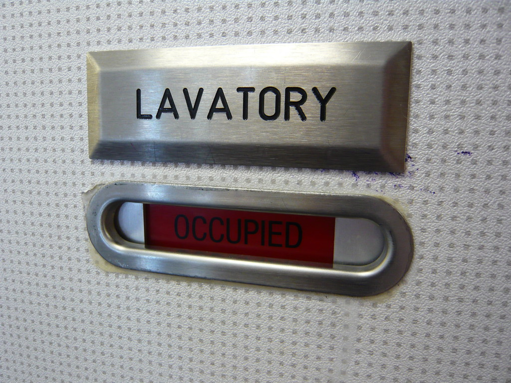 ... Occupied -- the Lavatory door of Thai Airways flight from BKK to PVG | by & Occupied -- the Lavatory door of Thai Airways flight from u2026 | Flickr