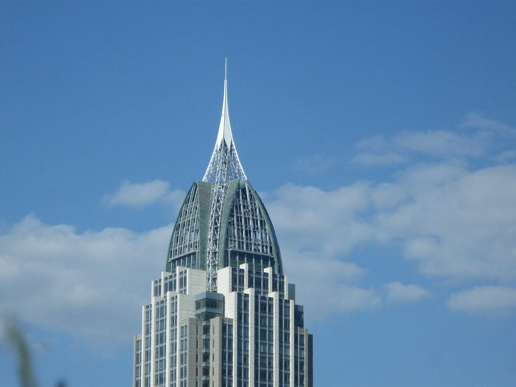 Rsa battle house tower tallest building in mobile and al for Building a house in alabama