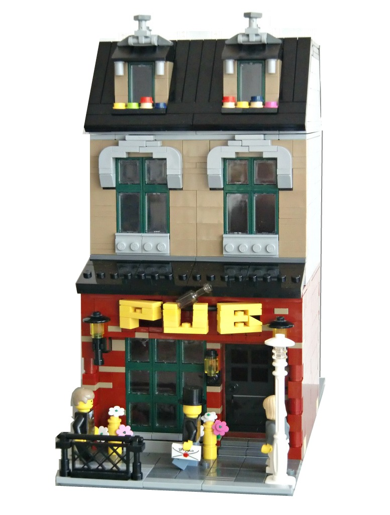 Lego Modular Building Pub This Is My Latest Modular