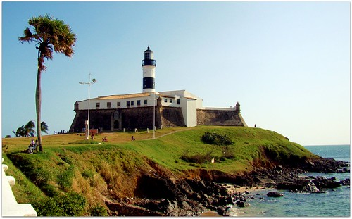 Farol da Barra - the first lighthouse in the Americas | by Fred Matos