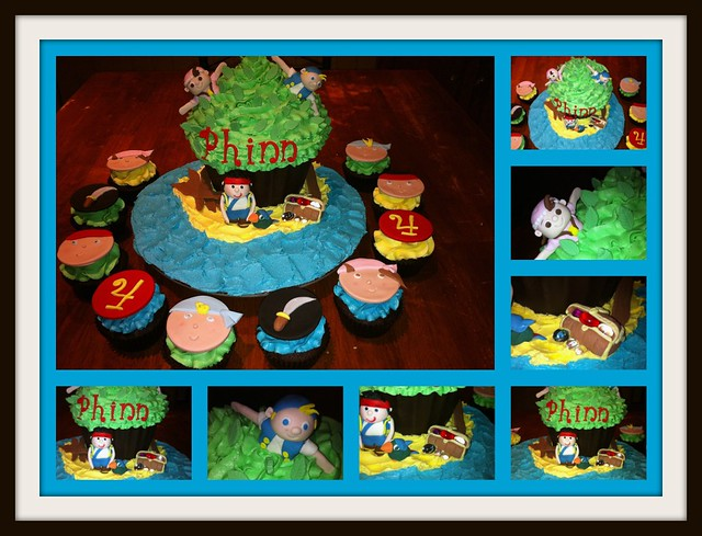 jake and the neverland pirates cupcakes - photo #35