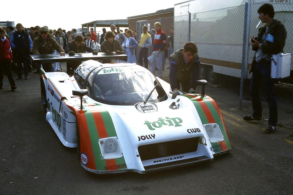 Lancia Lc2 84 Beppe Gabbiani Amp Pierluigi Martini In The