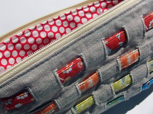 Woven Pouch for PLP Swap | by theplaidscottie