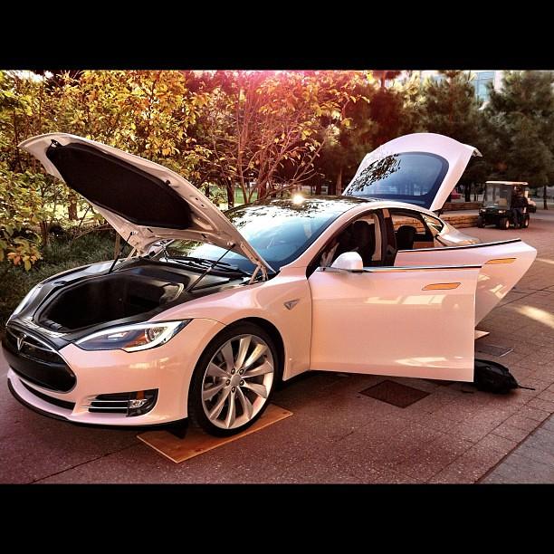 Tesla Model S Electric Motor Design