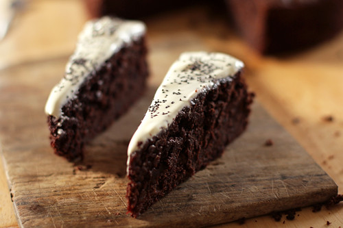 chocolate-beet cake | by David Lebovitz