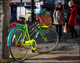 Coloured bicycle | by Charles S Hamilton
