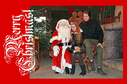 Bert and I with Santa | by House Of Secrets Incorporated