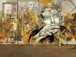 C215 - Portrait of George Braque | by C215