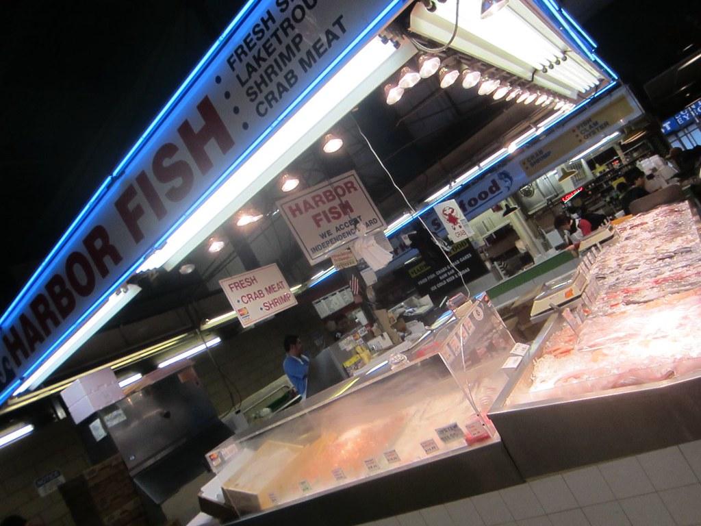 Harbor fish lexington market baltimore www for Harbor fish market